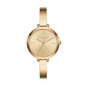 Mkswc Mk3734 Reloj Extensible Acero Dorado, Caratula Dorado,