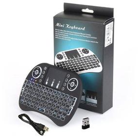Mini Teclado Touch Wireless Bluetooth Usb Pc Tv Xbox Ps3