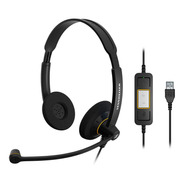 Auriculares Sennheiser Sc 60 Usb Ml Con Micrófono
