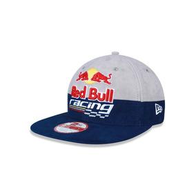 bac1fa67e15e0 Boné New Era Red Bull Cinza Champion 59fifty - Bonés no Mercado ...