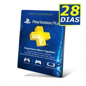 Psn Plus 14+14 / 28 Dias | Ps4 | Playstation #2 Jogue Online