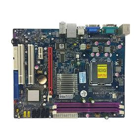 Placa Mãe Intel Lga775 Ddr2 G31t-m7 Mega 4gb Espelho Nf