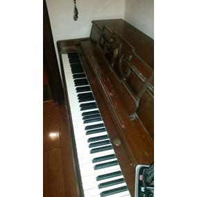 Piano De Pared Con Banco Para Estudio Marca Wurlitzer U.s.a.