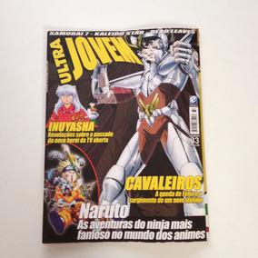 Revista Ultra Jovem Cavaleiros Naruto Inuyasha N°33
