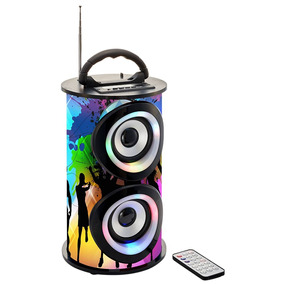Caixa De Som Bluetooth 25w Trc Portátil - Trc 218a