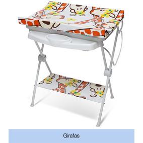 Banheira Galzerano Luxo Rígida Suporte Trocador Girafas