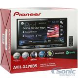 Pantalla Pioneer Avh-x490bs Multicolor Bt Mixtrax Táctil 7