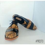 Zapato De Cuero Legitimo Para Hombres De Vestir