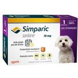 Simparic 10mg P/ Cães 2,6 A 5,0 Kg - 1 Cp S/ Cx (v. 03/2019)