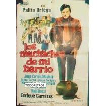 Afiche Los Muchachos De Mi Barrio Palito Ortega 1970