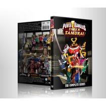 Dvds Power Rangers Super Samurai