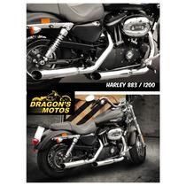 Ponteira Harley 1200 Sport Após 2014 Cano De Descarga