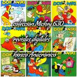 Mickey 630 Revistas Antiguas Digitalizadas Envío Gratuito
