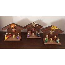 Pesebres En Miniatura Artesanales