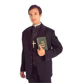 Disfraz Traje Sacerdote Foro Novedades De Los Hombres Del F