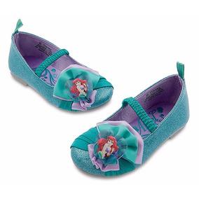 Disfraz Vestido Sirenita Ariel Bebe Disney Store Zapatillas