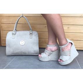 Zapatos Plataformas Bolso Combo De Moda Calzado Colombiano