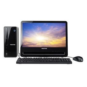 Desktop Positivo Stilo Dsi3168 Celeron 4gb 1tb Lcd - Linux