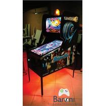 Pinball Digital - Única Com Force Feedback E 3d Real -