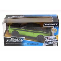 Auto Coleccion Rapido Y Furioso Metal Dodge Challenger 1:24