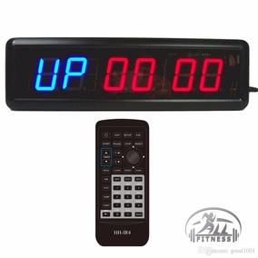 Timer Crossfit-box-cronómetro-reloj Digital Bocina Led 6 Dig