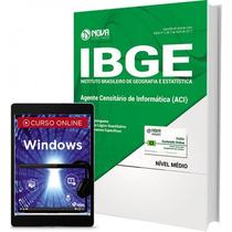 Material Ibge 2017 - Agente Censitário De Informatica