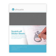 Silhouette Scratch-off Sticket Sheets - Hojas Papel Rascale