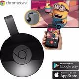 Google Chromecast 2 Hdmi Crome Cast Netflix Wifi Streaming