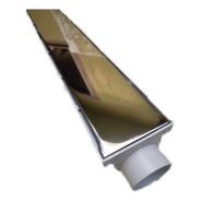 Ralo Linear Seca Piso 6x50 Com Grelha Inox Oculta