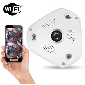 Camera Segurança Ip Interna Panoramica 360 Visão Noturna Wif