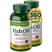 Natures Bounty Fish Oil Omega 3 Importa 1200 Mg 360 Cápsulas