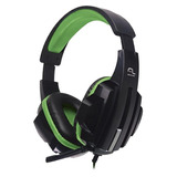 Fone De Ouvido Headset Gamer P2 Cabo Nylon Verde New - Ph123