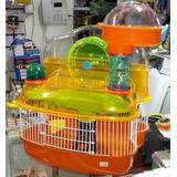 Petpro® Jaula Hamster Lunar + Accesorios / Vets&pets
