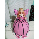 Torta Artesanal Barbie Mariposa Zona Sur Envios