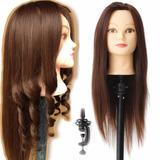 Cabeza Practica Peluquería Cosmetología Maniquies Peinados