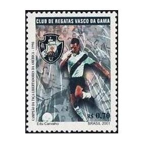 2001 - Selo Vasco - Campeão Da Libertadores (c2401) Mnh