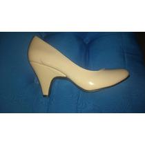 Zapatos Color Nude Número 23