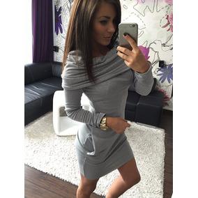 Sexy Casual Hoodie Vestido Juvenil Envio Gratis 5124