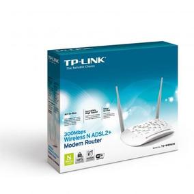 Modem Roteador Wireless N Adsl2+ 300mbps Tp-link Td- W8961n
