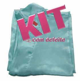Kit 10 Robes De Cetim Com Defeito