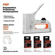 Engrampadora Metalica Manual Prof 4a 4mm+400 Grampas Regalo