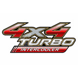 Calco 4x4 Turbo Intercooler Toyota Hilux Original 3m Decals!