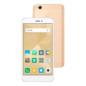 Celular Libre Xiaomi Redmi 4x Dorado 3gb/32gb 13mpx/5mpx