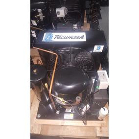 Unidad Condensadora Refrigeración 3 Hp 220v Congelación R404