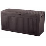 Baú Plástico Keter Comfy Porta Coisas 270 Litros