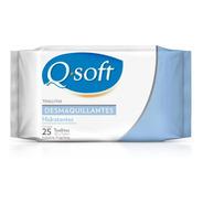 Toallitas Desmaquillantes Q-soft Hidratantes (12 Paquetes)
