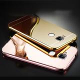 Funda Case Luxury Metal Huawei G8 Nova Plus Cromado