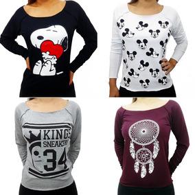 Kit 10 Camiseta Blusa Feminina Baratas Atacado T Shirt Verão