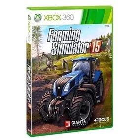 Farming Simulator 2015 Simulador Pra Xbox 360 Destravado