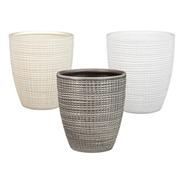 Conjunto 3 Vasos Decorativo Para Todos Os Estilos.